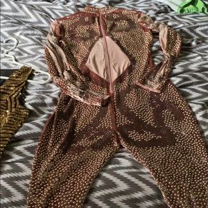 Other - Classy Bling jumpsuit/ body suit